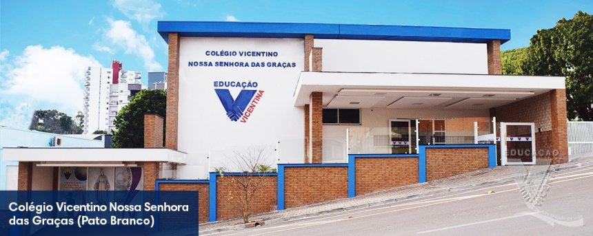 Atuais Instalações Colégio Vicentino Nossa Senhora das Graças - Pato Branco PR