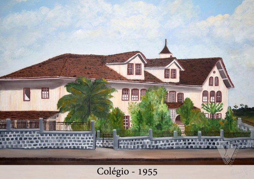 Instalações Colégio Vicentino - 1955