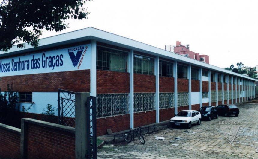 Instalações do Colégio Vicentino Nossa Senhora das Graças 2002